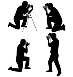 photographers vector image