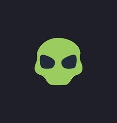 Alien Head computer symbol vector image