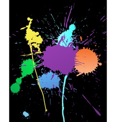 color grunge background vector image vector image