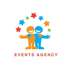 Events agency vector