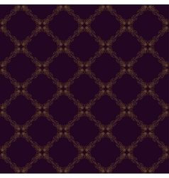 Seamless abstract vintage purple pattern vector image