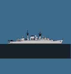 Type 22 batch i broadsword-class frigate vector