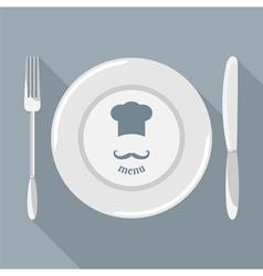 cutlery 002 vector image vector image