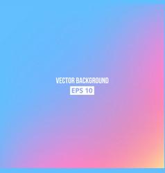 blue pink yellow blur gradient vector image