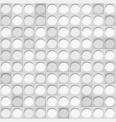 background of tiles with circles vector image