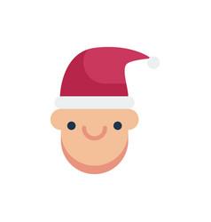 Christmas boy icon icon vector