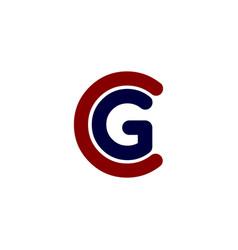 Color alphabet letter logo identity template vector