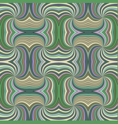 colorful abstract hypnotic seamless striped swirl vector image