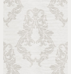 Damask pattern antique decor vector