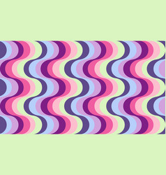 fashionable wavy background vector image