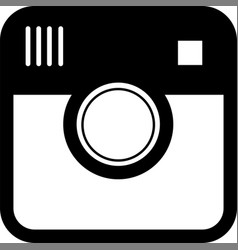 hipster camera photo vector image