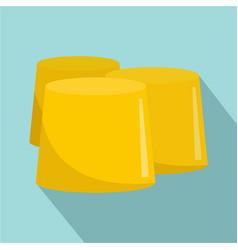 honey figure icon flat style vector image
