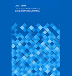 modern geometric poster vector image