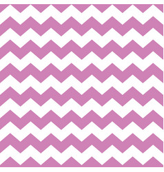 Tile pattern with violet zig zag on background vector