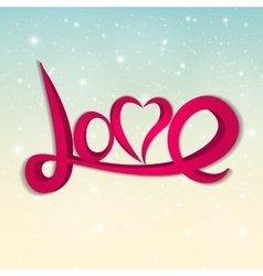 St valentine s day greeting card vector