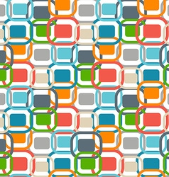 70s retro graphics seamless pattern vector