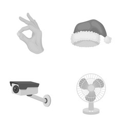 Business trade holiday and other monochrome icon vector