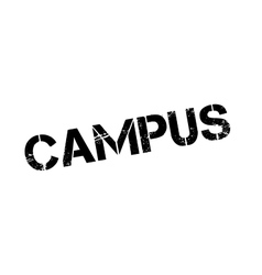 Campus rubber stamp vector