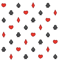 Casino pattern vector
