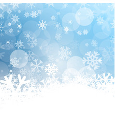 cold background frozen winter design with vector image
