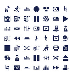 Player icons vector