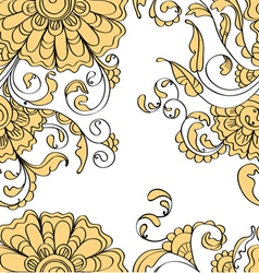 seamless flower vector image