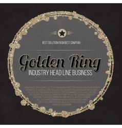 Logo design template Trade Sign Busines Label vector image vector image