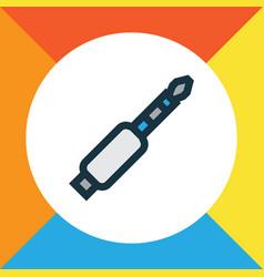 jack colorful outline symbol premium quality vector image