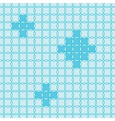 Circle fun pattern vector