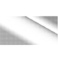 abstract halftone texture with dots vector image