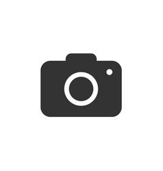 camera icon flat design vector image