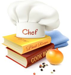 Chef And Cooking Concept vector image