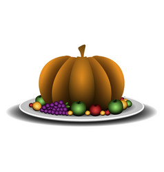 Isolated pumpkin ilustration vector