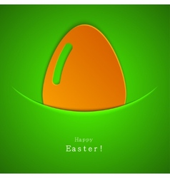 modern easter egg background Eps 10 vector image