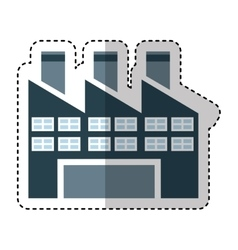 plant factory isolated icon vector image