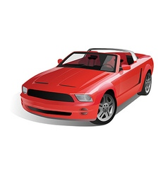 Sports Muscle Car vector