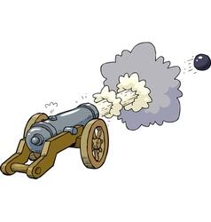 artillery fired kernel vector image