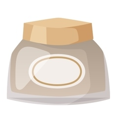 Cosmetics blank package box icon vector image vector image