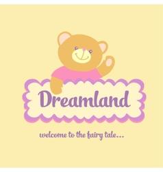 Dreamland vector image vector image