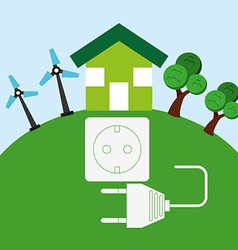 energy power design vector image vector image