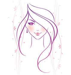 Women pink vector