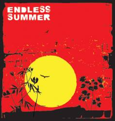 endless summer vector image vector image