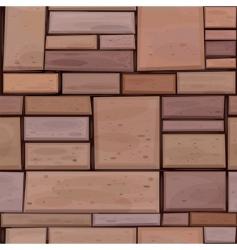 brown wall vector image