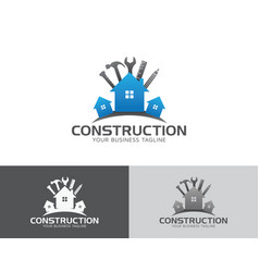 Construction maintenance logo vector