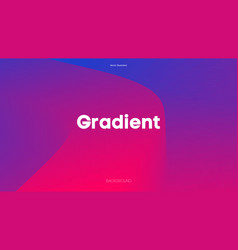 gradient background color vector image