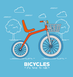 I love my bike label template vector