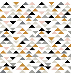 triangle seamless pattern modern abstract vector image