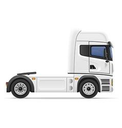 truck semi trailer 01 vector image vector image