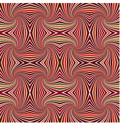 brown abstract psychedelic seamless striped vector image