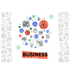 Business and management concept vector